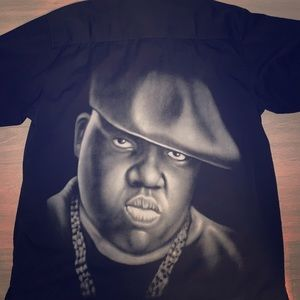 NOTORIOUS BIG Shirt Brooklyn Mint